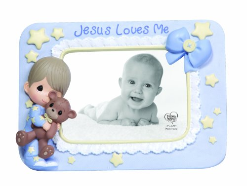 Precious Moments Boy With Teddy Photo Frame