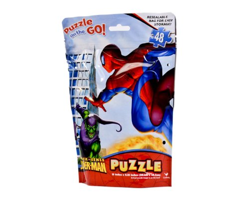 Spider-man Puzzle on the Go 48 Pieces at Sears.com