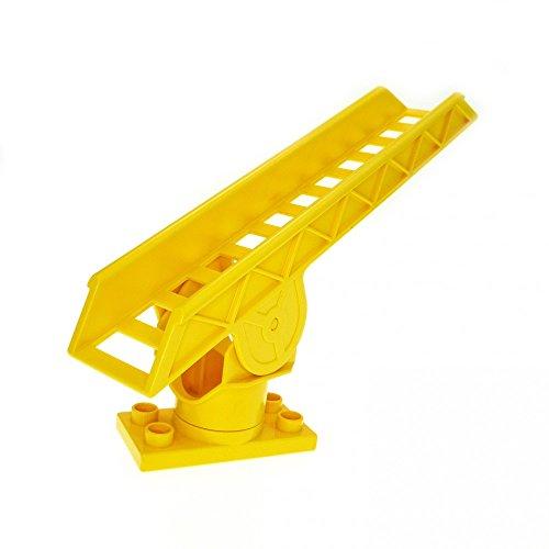 1 x Lego Duplo Leiter gelb Drehleiter Feuerwehr