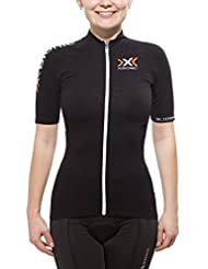 X-Bionic Bike Race The Trick Jersey short sleeve womens Ladies Full Zip black 2015