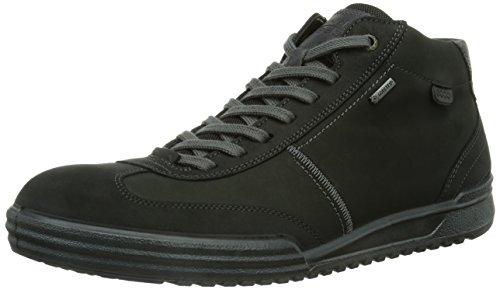 Ecco ECCO FRASER, Sneaker alta Uomo, Nero (Black (black/moonless)), 45 (11 uk)