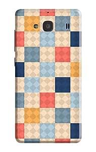 Xiaomi Redmi 2 Cover, Premium Quality Designer Printed 3D Lightweight Slim Matte Finish Hard Case Back Cover for Xiaomi Redmi 2