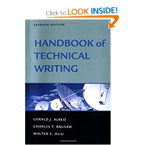 best technical writing books Along with writing emails, letters and reports, the technical writer must be able to  prepare  if you want an encounter, buy a book on technical writing, but if you  want to learn it properly,  best support team and best instructor, great  learning.