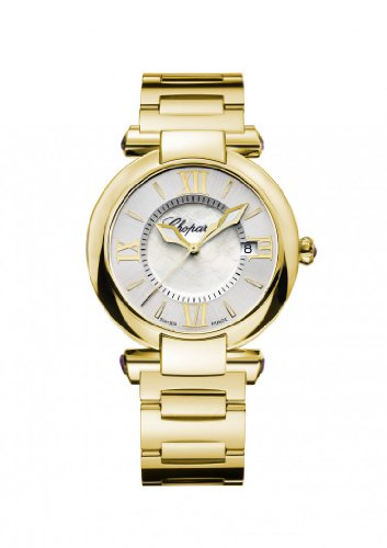 Womens Chopard Imperiale 36 Mm Watch 18-karat Yellow Gold and Amethysts 384221-0002