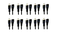 C E CNE41075 6-Feet 1.8m 1080p HDMI to HDMI Cable for PS3 10 Pack(12 Feet)