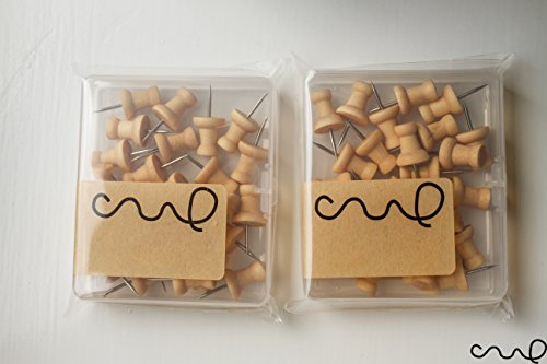 redchocol8r-set-of-2-light-brown-wooden-push-pins-packs-25-pins-per-pack-natural-wood-colour-novelty