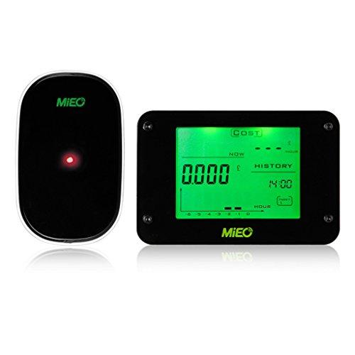 Floureon Wireless Electricity Monitor Power Meter Energy Monitor, Save Money Save Energy
