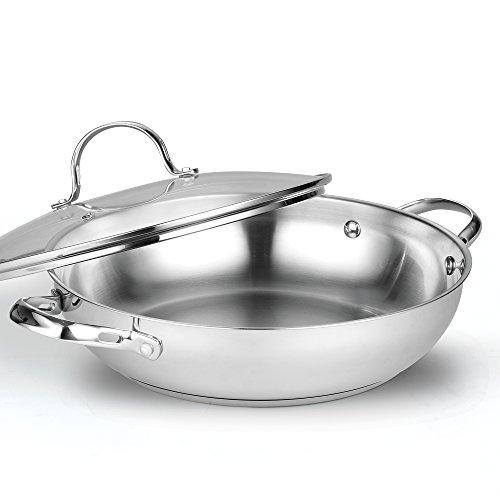 Cooks Standard 02502 Classic Everyday Chef Stir Fry Pan, 12