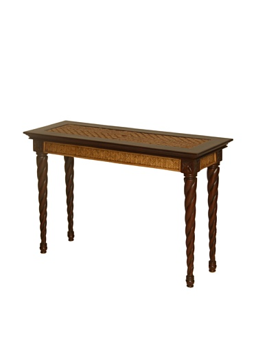 Antique White Vanity Table front-951032
