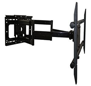 Premium Dual-Arm Articulating Tilt Swivel TV Wall Mount for Sharp LC-60LE847U Smart 3D TV **Top Seller** Extends 32 Inches