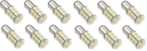 12 X Led Green Value Led 25006V-12W 1076 Base Tower Led Replacement Bulb 250 Lum 8-30V Natural White