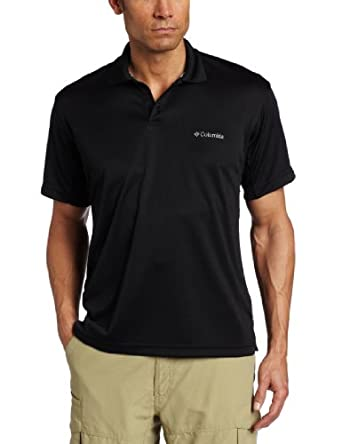 Columbia Men's New Utilizer Polo, Black, Small