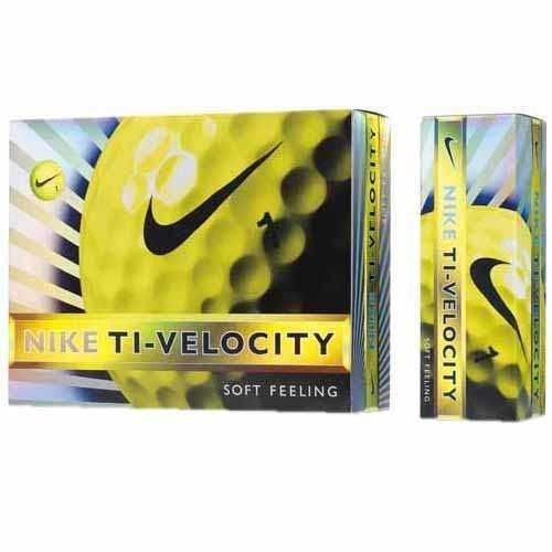 NIKEGOLF (Nike Golf) 2013 model ball TI-VELOCITY 12 pieces yellow GL0612-701