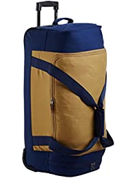 Quiksilver Polyester 27.5 Inches Medieval Blue Travel Duffle (3613370516445_EQYBL03055_Medieval Blue)