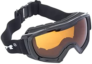 Ultrasport Race Edition Ski/Snowboard Goggles - Black/Orange