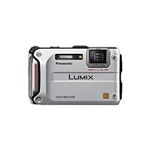 Panasonic Lumix TS4 12.1 TOUGH Waterproof Digital  Camera with 4.6x Optical Zoom