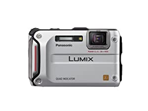 Panasonic Lumix TS4 12.1 TOUGH Waterproof Digital Camera with 4.6x Optical Zoom (Silver)