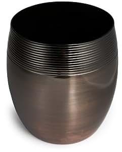 Steeltek Metro 9 Quart Wastebasket Oil Rubbed Bronze Bath Waste Bins