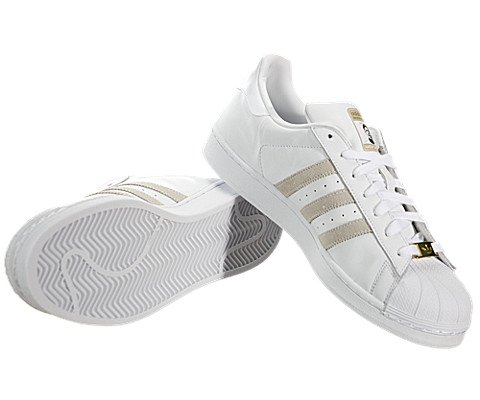 pictures of Adidas Superstar RT (Kareem Campbell) - White / White, 11 D