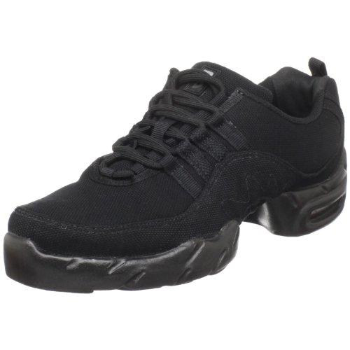 Bloch Women's Canvas Boost Sneaker Dance Sneaker,Black,8.5 M US