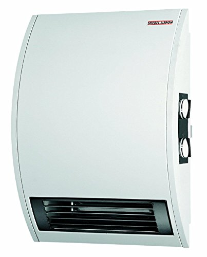 Stiebel Eltron CKT 15E 120-Volt 1500-Watts Wall Mounted Electric Fan Heater with 60 Minute Timer (Wall Mounted Water Heater compare prices)