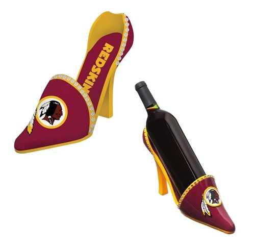Washington Redskins Decorative Wine Bottle Holder - Shoe