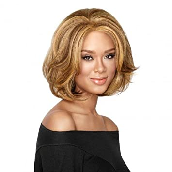 Amazon.com : Big Wave Bob Lace Front High Fashion Wig By LUXHAIR ...