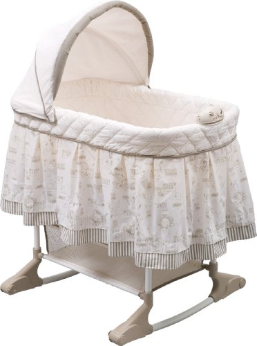 Delta Children Play Time Jungle Rocking Bassinet
