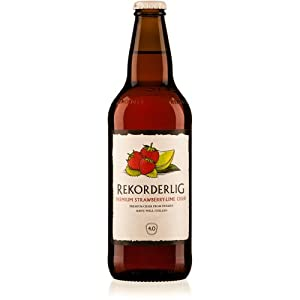 Rekorderlig - Strawberry & Lime - Premium Swedish Cider - 15x500ml Glass Bottle Case