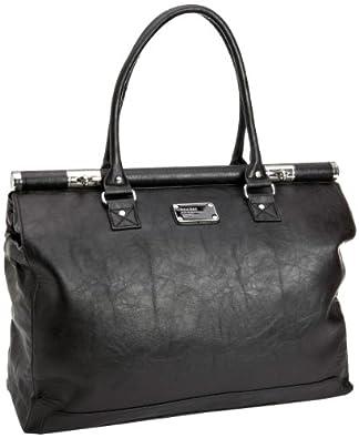 Bagsac Gaia Xl Shoulder Bag, Sacs à main femme - Noir-V.6