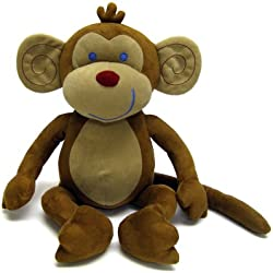 NoJo Jungle Babies Milton The Monkey - Stuffed Animal