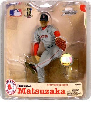 MLB Series 21: Daisuke Matsuzaka in Grey Jersey - Boston Red Sox