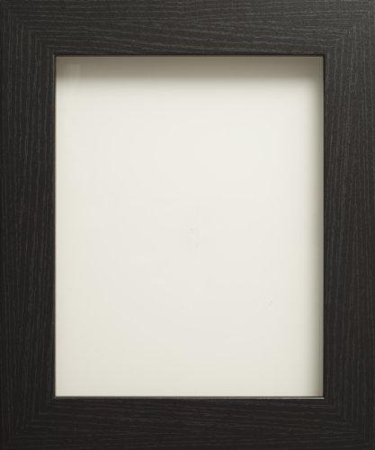Frame Company Watson - Cornice portafoto, disponibili diverse misure, colore: Nero A4 (11.75x8.25'')- 29.7x21cm nero