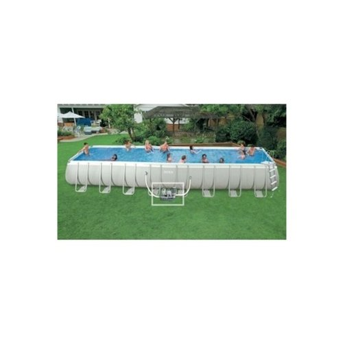 Piscine intex ultra silver pas cher for Piscine tubulaire rectangulaire intex pas cher