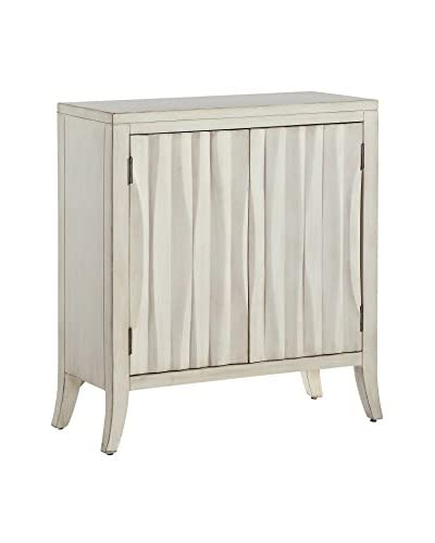 Coast to Coast Contemporary 2-Door Cabinet, White