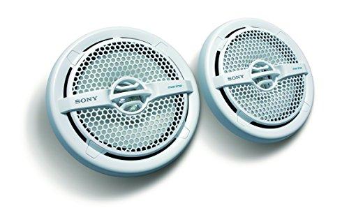 Sony-XS-MP1611-Seetaugliche-1524cm-6-Zoll-Dual-Konus-Lautsprecher-140W-resistent-gegen-Wasser-UV-Strahlen-Salz-wei