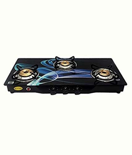 The Flame Aria Automatic Gas Cooktop (3 burner)