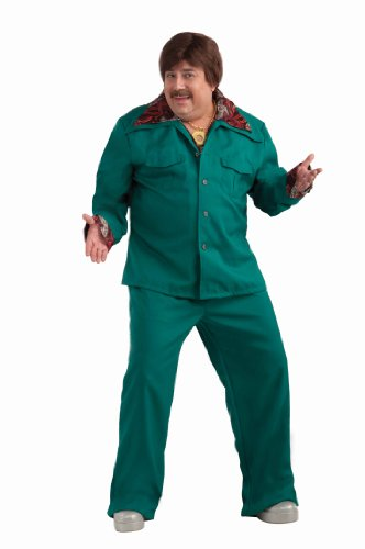 Forum Novelties Men's Plus-Size 70's Disco Fever Plus Size Leisure Suit Costume