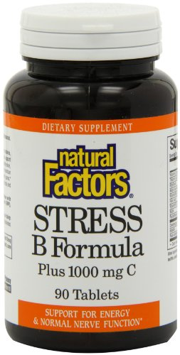 Natural Factors Vitamin B Stress Formula 25mg