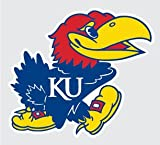 "Kansas Jayhawks MASCOT LOGO 4"" Vinyl Decal Car Truck Sticker KU at Amazon.com"