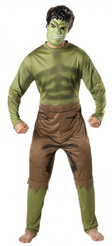 [Character Marvel Avengers Incredible Hulk Adult X Large Chest 42 46 Costume] (Incredible Hulk Costume Ideas)
