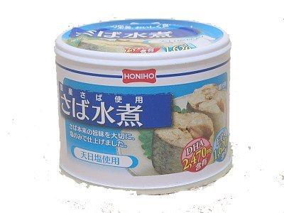 HOKO 宝幸 ホニホ さば水煮 190g T2缶