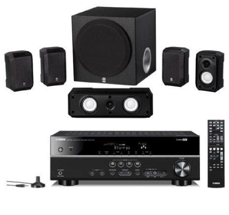 "Yamaha 5.1 Channel 600 Watt Surround Sound Home Theater System With 8"" Advanced Yst Subwoofer"