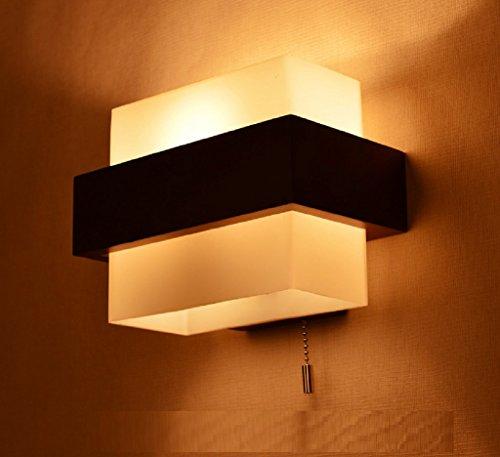 holz dekorative leuchten kreative modernen. Black Bedroom Furniture Sets. Home Design Ideas