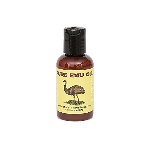 Emu Oil Pure Premium Golden - Powerful Skin And Hair Moisturizer, Excellent For Stretch Marks, Scars, Nails, Muscle & Joint Pain, And More! - 2 Fl.Oz.