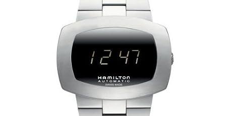 HAMILTON ハミルトン パルソマティックSSブレスレット自動巻デジタルH52515139正規品