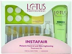 Lotus Professional Instafair Melanin Control and Skin Lightening Kit