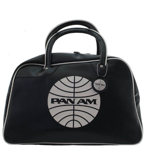 Pan Am Explorer Black Vintage Travel Bag