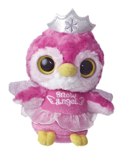 Aurora World YooHoo Kookee Snow Angel Plush Toy, 5""