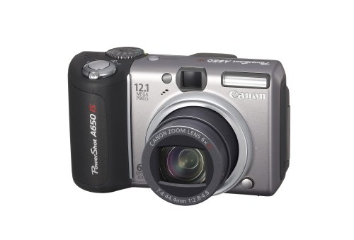 Canon PowerShot A650 IS is one of the Best Compact Point and Shoot Digital Cameras for Low Light Photos Under $750